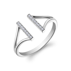 Lee Ring White Gold