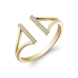 Lee Ring Yellow Gold