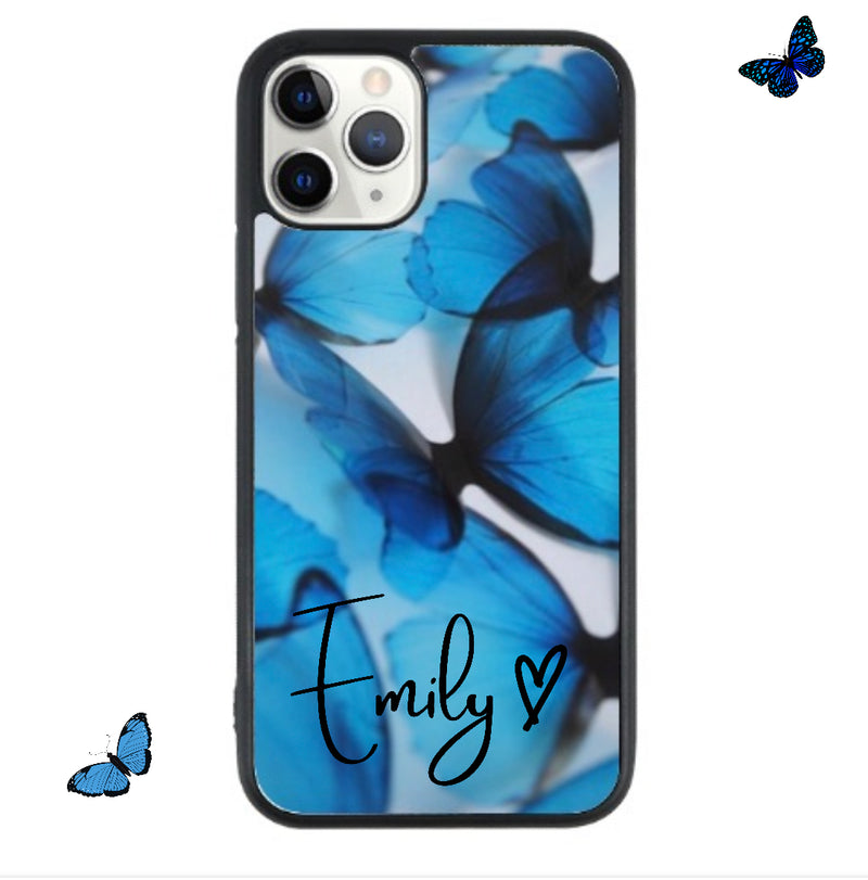 Blue butterfly Name Case