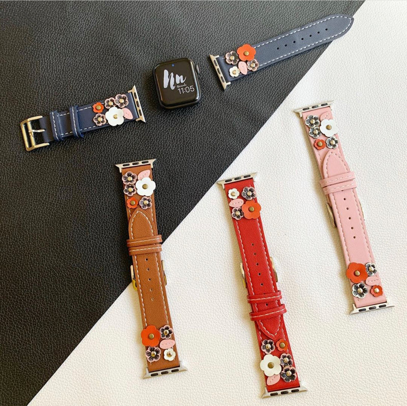 Flower iwatch Strap 42/44mm-38/40mm