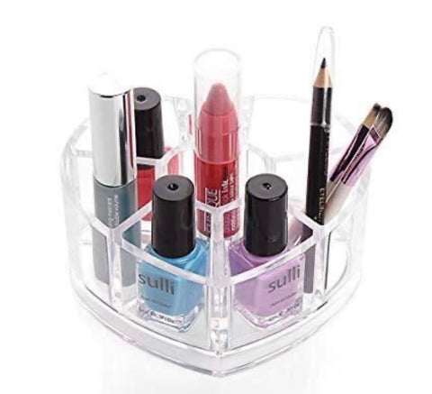 Heart shape Makeup Organizer