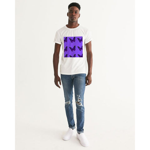 Purp butterfly  Men's Graphic Tee
