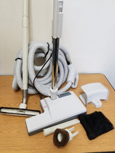 Load image into Gallery viewer, Central Vacuum 35 Ft Hose Accessory Kit Featuring Perfect Power Nozzle