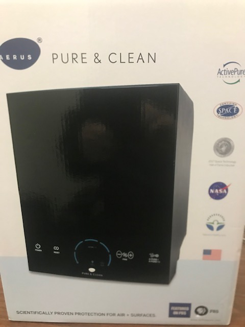 Aerus Pure and Clean Air Purifier and Surface Purifier Proven to Nullify Sars-CoV-2 Plugs in to wall.