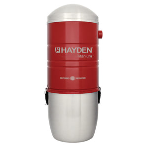Hayden Central Vacuum Power Unit Model Titanium homes up to 7000 Sq Ft