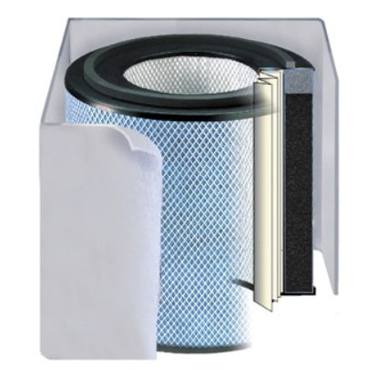 Austin Air 5-Stage FR402 Bedroom Machine Replacement Filter WHITE