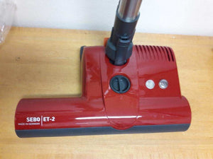 SEBO 9250AM ET-2 Power Head For D4 W/ ET-2 Overprint RED