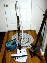Load image into Gallery viewer, Central Vacuum 35 Foot Hose Accessory Kit Featuring Sebo ET-2 Carpet Power Head