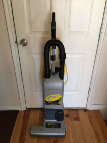 ProTeam Pro Force 1500 XP Upright Vacuum With Hose on Board Case