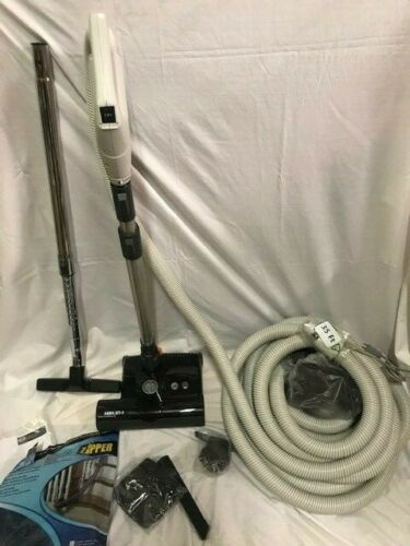 Central Vacuum 35 Foot Hose Accessory Kit Featuring Sebo ET-1 Carpet and Hard Floor