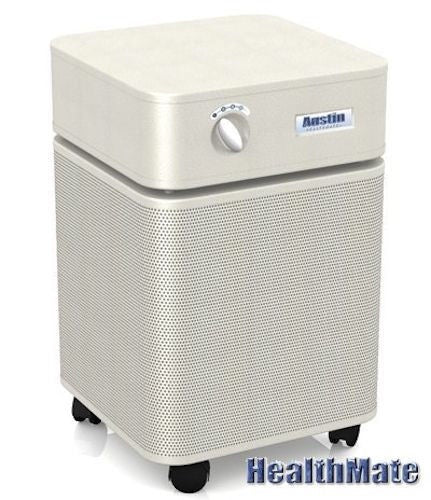 Austin Air Model Bedroom Machine Air Cleaner Purifier HM 402 Sandstone