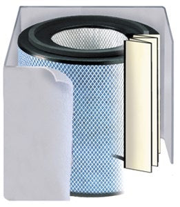 Austin Air Allergy Machine (HEPA) Replacement Filter FR405 WHITE