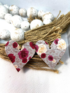 Rose Leopard Hearts