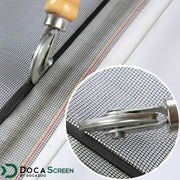 "DocaScreen Standard Window Screen Roll – 36"" x 50' Fiberglass Screen Roll"