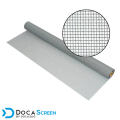 Window screen roll in Gray -- 48 inch by 100 foot.