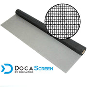 "DocaScreen Standard Window Screen Roll – 72"" x 50' Fiberglass Screen Roll"