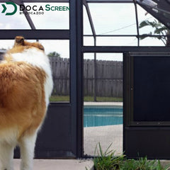 "DocaScreen Pet Screen Roll – 72"" x 96"" Pet Proof Screen"