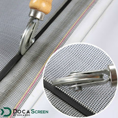 "DocaScreen Standard Window Screen Roll – 84"" x 100' Fiberglass Screen Roll"