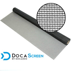 "DocaScreen Standard Window Screen Roll – 84"" x 50' Fiberglass Screen Roll"