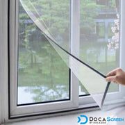Magnetic window screen DIY with a view