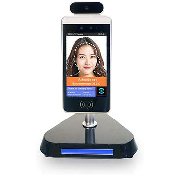 Temperature Scanner Kiosk with Facial Recognition (Table Stand)