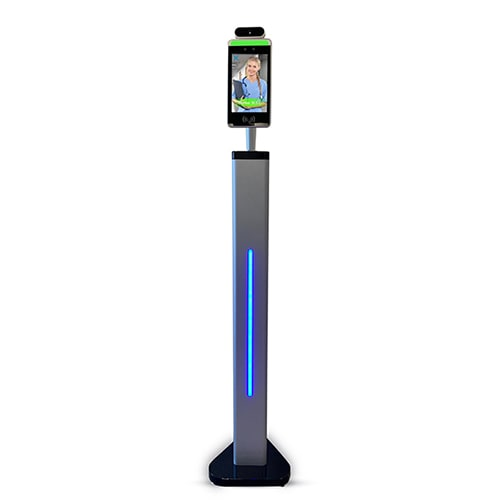 Temperature Scanner Kiosk w/ Facial Recognition (Adult Floor Stand)