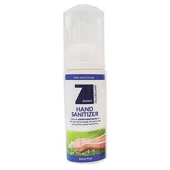 Zoono 50mL Water Based Hand Sanitizer (4 Pack)