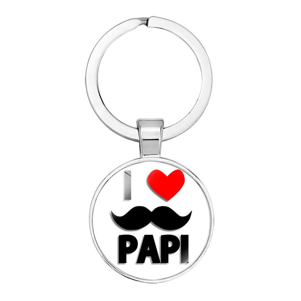 Best Super Dad  Keychain Father's Day Gift