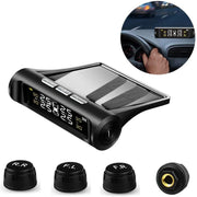 Universal Solar Power Car Tire Pressure Monitoring System TPMS