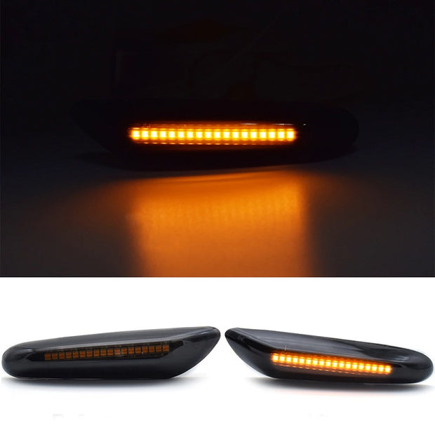 Turn Signal LED Fender Light For BMW 1/3/5 Series