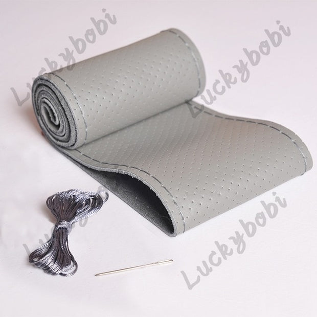 Needle and thread for car steering wheel non-slip braid cover
