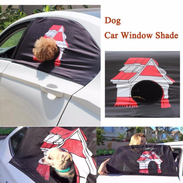 Peekapet Curtain Foldable Car Visor Cover