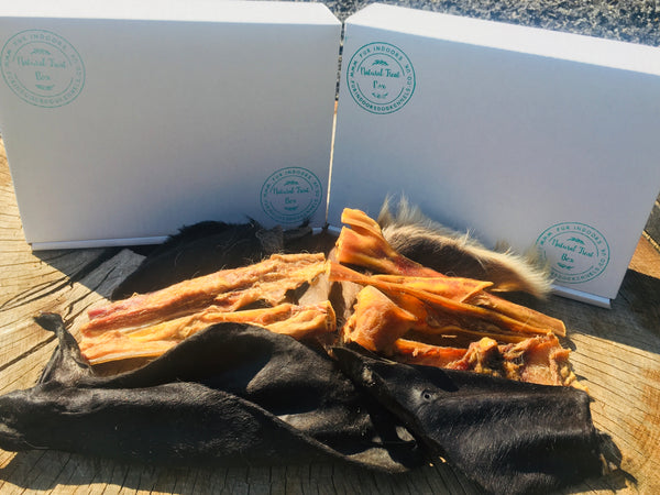 Hairy Cow Ear and Cow Hide Box