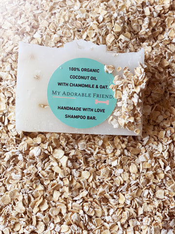 100% Small Chamomile and Oat Shampoo Bar