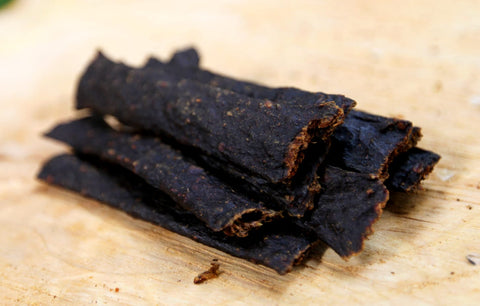 Venison Meat Strips - 100g Approx 6 Strips.