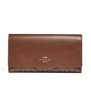 Coach-Ladies Tri Fold Wallet