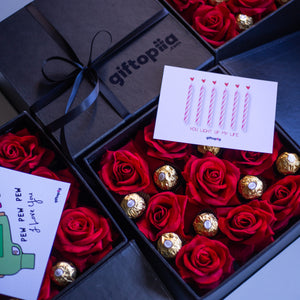 Load image into Gallery viewer, Be My Valentine Small Gift Box-