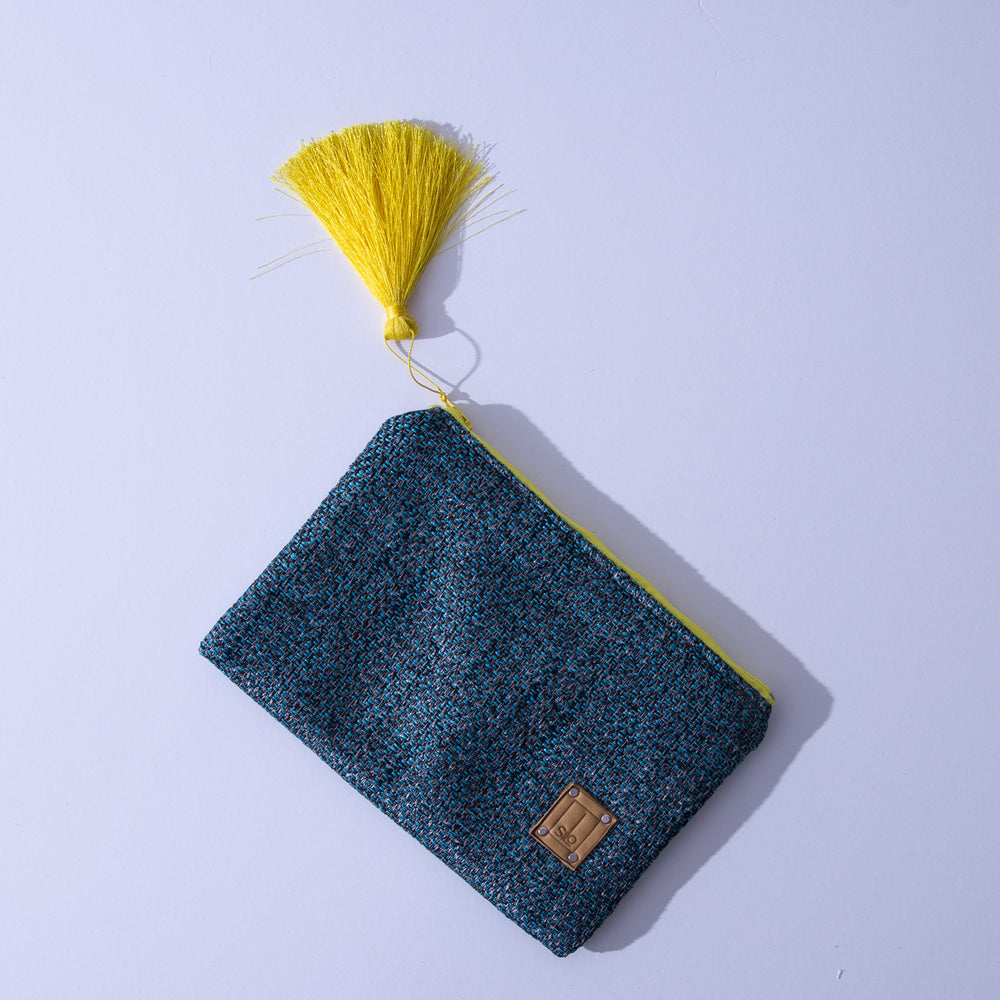 "Silo-Lille multi functional bag ""Dark Blue & Yellow"""