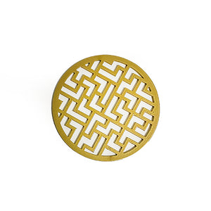 Load image into Gallery viewer, Mosha-Maze Condy Coaster Gold