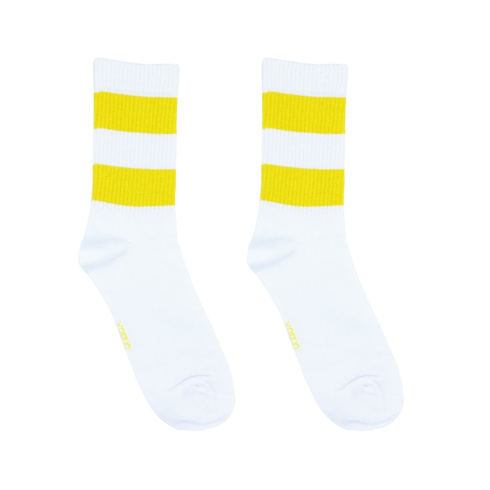 "Load image into Gallery viewer, Unisox-Crew Socks ""Yellow Mellow"""