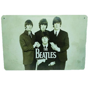 OddBits-Vintage Tin Signs The Beatles