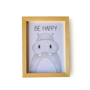 Design Avenue-Be Happy Frame