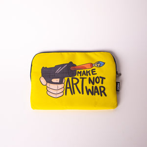 Load image into Gallery viewer, Madd-Make Art Not War Laptop Sleeve 13""