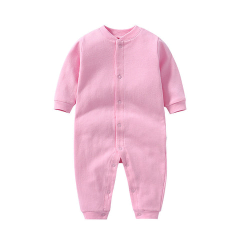 Pink toddler baby boy girl romper one piece