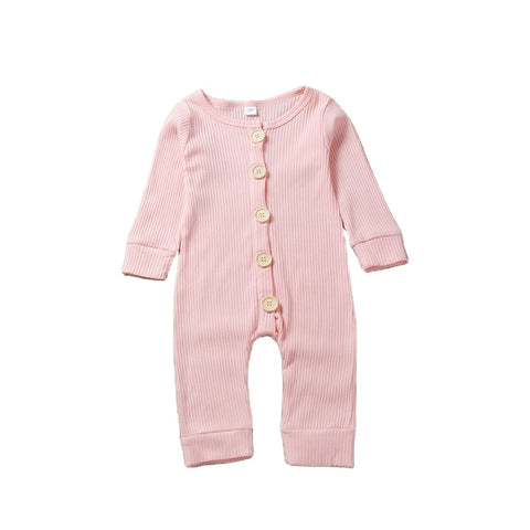 Pink  Baby Clothes Rompers