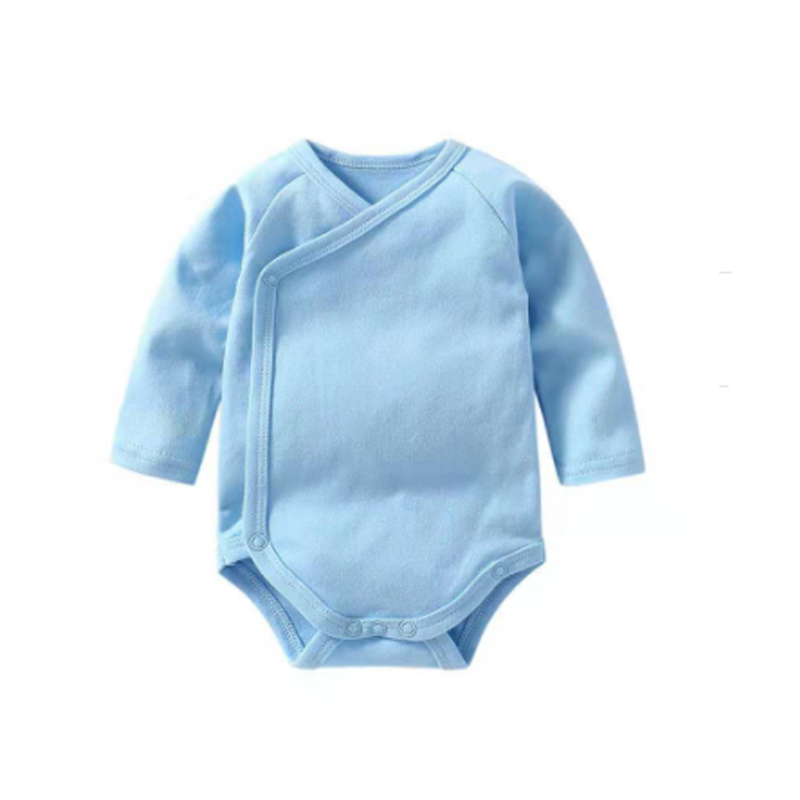 Baby Bodysuit Long Sleeve - Blue