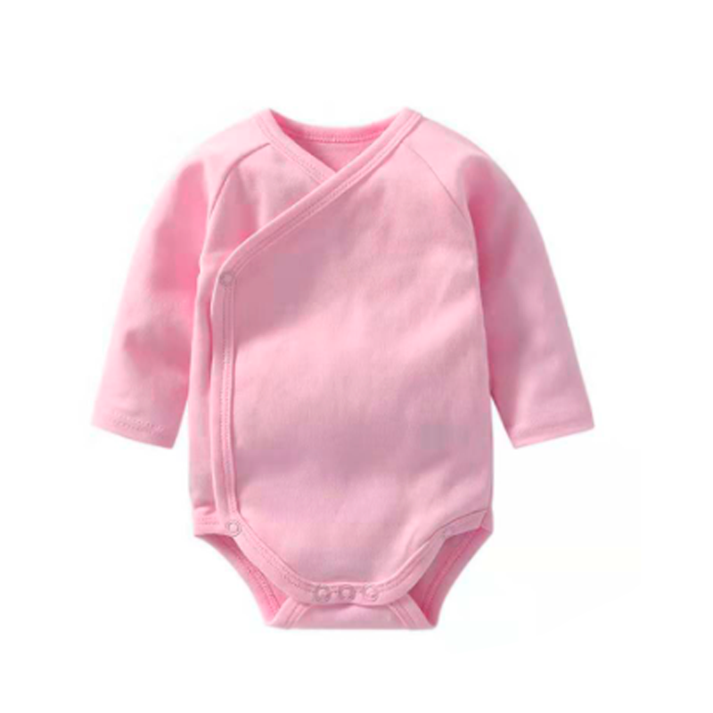 Baby Bodysuit Long Sleeve - Pink