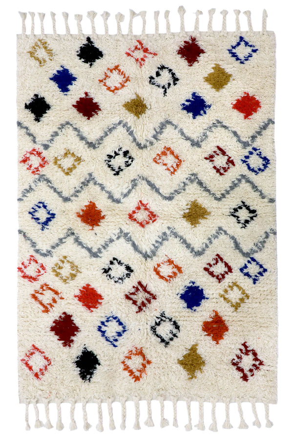 WINTER -RECTANGULAR RUG - MULTICOLOUR
