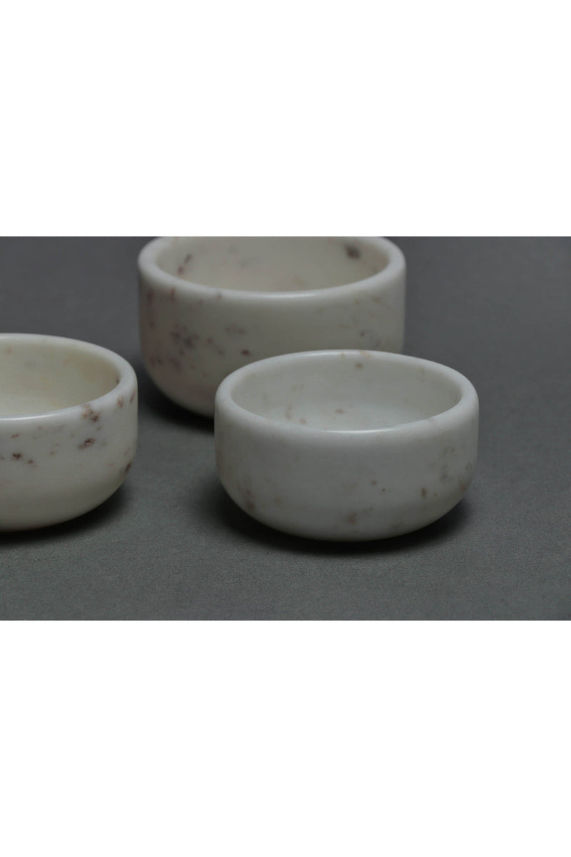 VARIED - MARBLE ACCESSORIES - WHITE