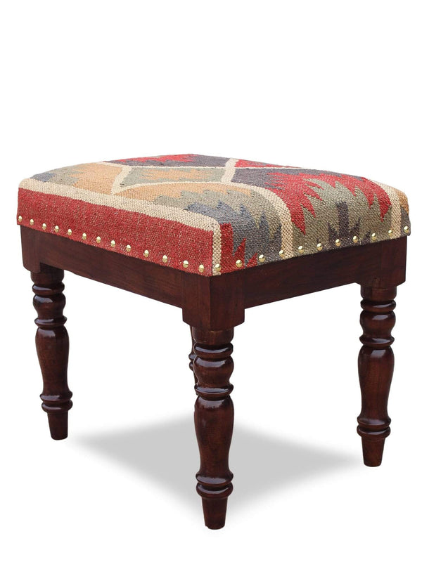 ACTION -RECTANGULAR OTTOMAN-MUTICOLOUR - ART AVENUE